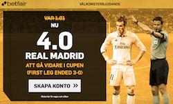boostat odds Real Madrid