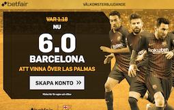 boostat odds på Barcelona