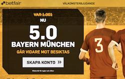 Boostat odds Bayern Munchen