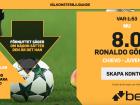 ronaldo odds