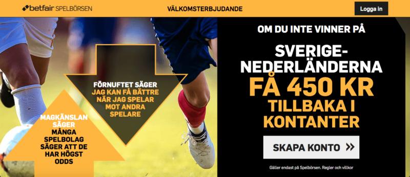 sverige holland kampanj