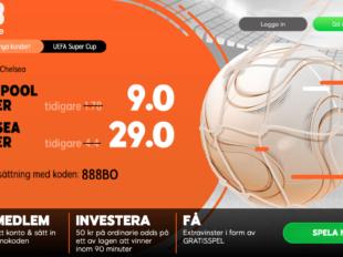 boostade odds uefa supercup