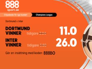 champions league boostade odds