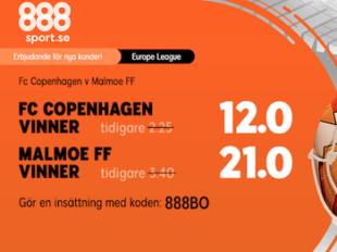 kopenhamn malmo ff odds