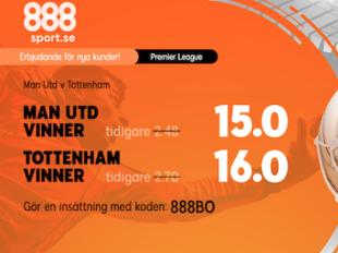 manchester united tottenham odds