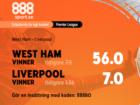 boostade odds 888sport