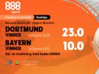 valkomsterbjudande 888sport