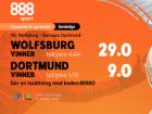 wolfsburg dortmund odds