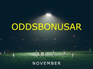 oddsbonusar november